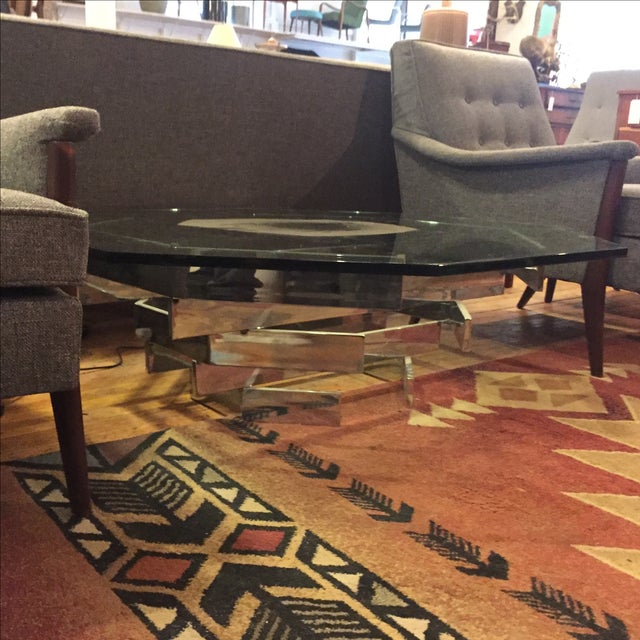 Paul Mayen for Habitat Chrome Stacked Table For Sale - Image 4 of 6