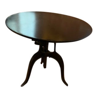 Industrial Americana Crank Table From Jamie Young For Sale