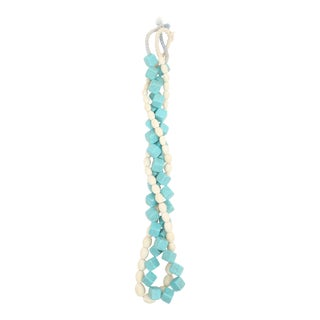 Beautiful Turquoise and Bone Bead Strands - Set of 2
