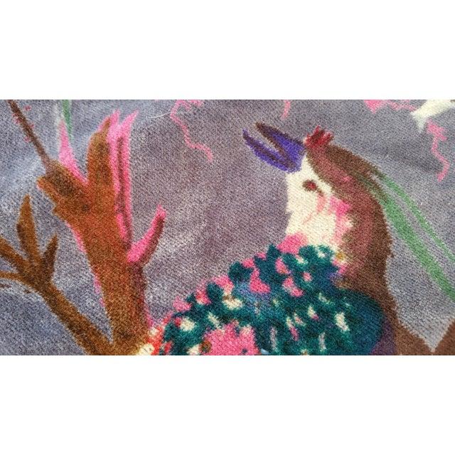 Vibrant Chinoiserie Velvet - Image 4 of 4