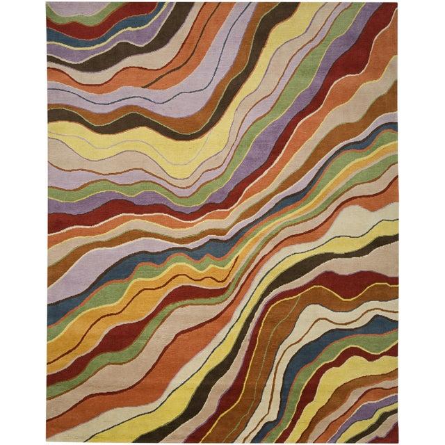 Abstract ModernArt - Customizable Jovial Rug (6x9) For Sale - Image 3 of 3