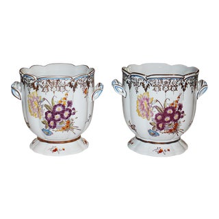 Chelsea House Cachepots- A Pair For Sale