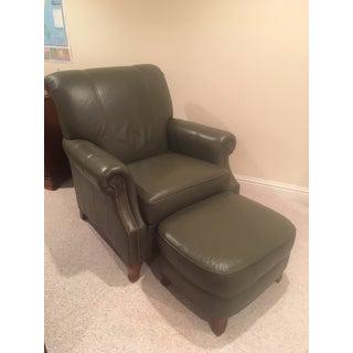 Ethan Allen Avery Chair & Ottoman Preview