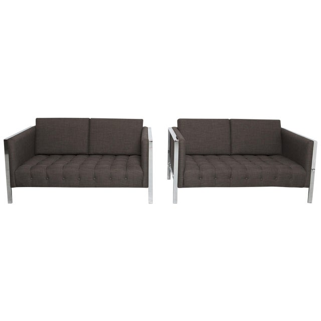 Founders Settees - A Pair - Image 1 of 6
