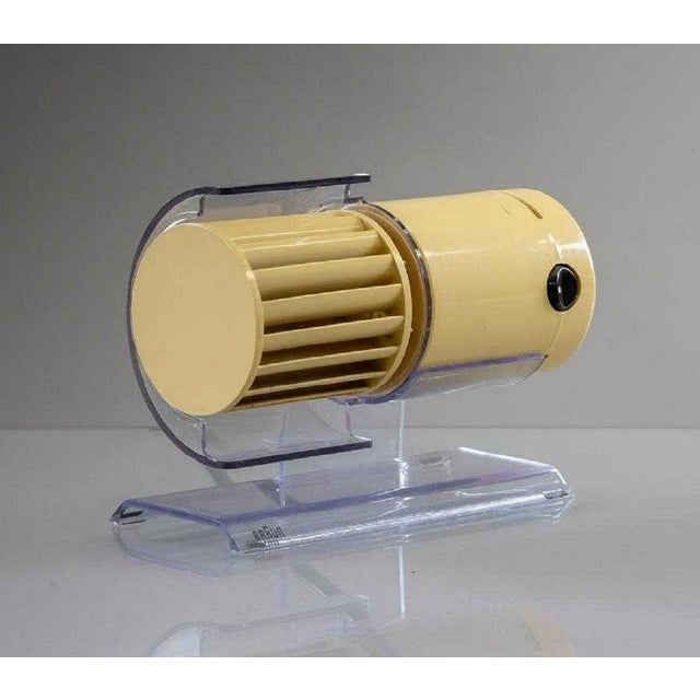 1960s Reinhold Weiss for Braun Desk Fan For Sale - Image 5 of 5