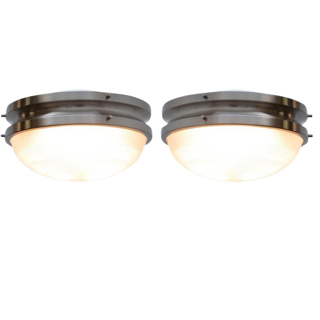 Sergio Mazza for Artemide Flush Mount or Wall Mount Fixtures For Sale