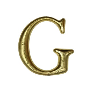 English Pub Sign Letter G For Sale