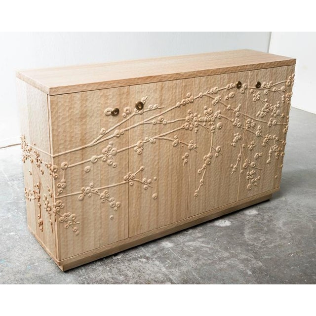 Millicent Mini Pueblo Plum Blossom Credenza by Emily Henry For Sale In Santa Fe - Image 6 of 7