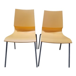 Marco Maran Ricciolina Chairs - a Pair For Sale