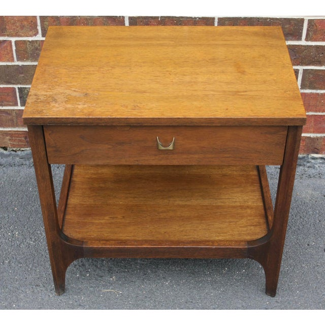 Broyhill Brasilia Nightstand or Side Table For Sale - Image 5 of 11