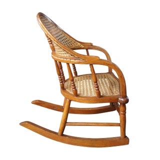 19th Century Early American Children's Cane Seat Preview