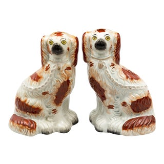 1870s Staffordshire Dogs - a Pair For Sale