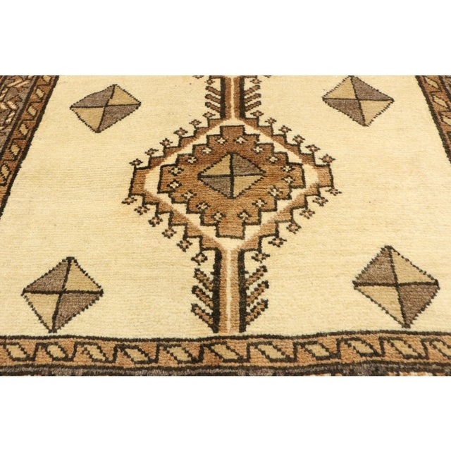 """Textile Vintage Persian Shiraz Rug - 3'5"""" x 6'9"""" For Sale - Image 7 of 11"""