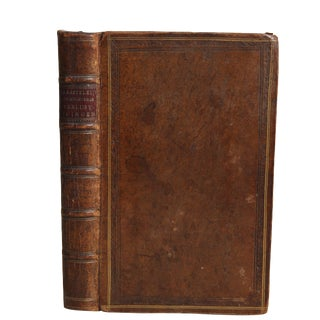 "1779 ""Full Leather, Close Delights, Outstanding Pieces, Poetry"" Collectible Book For Sale"