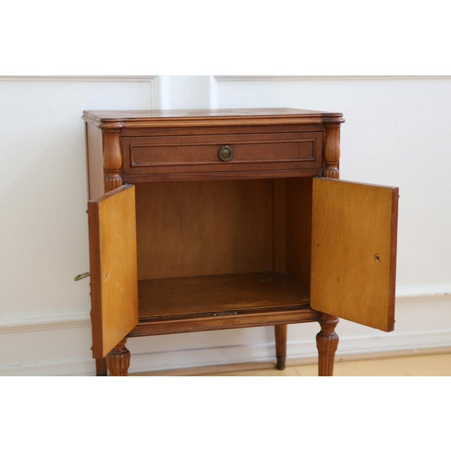 Antique French Style Nightstand - Image 6 of 9