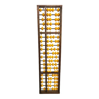 Antique Wooden Japanese Abacus