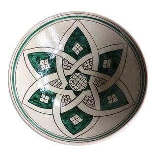 Italian Ceramic Serving Bowl- Stella For Sale