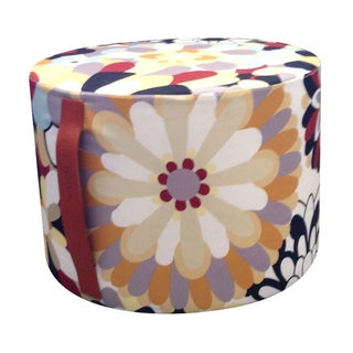 MissoniHome Vevey Cylindrical Pouf For Sale