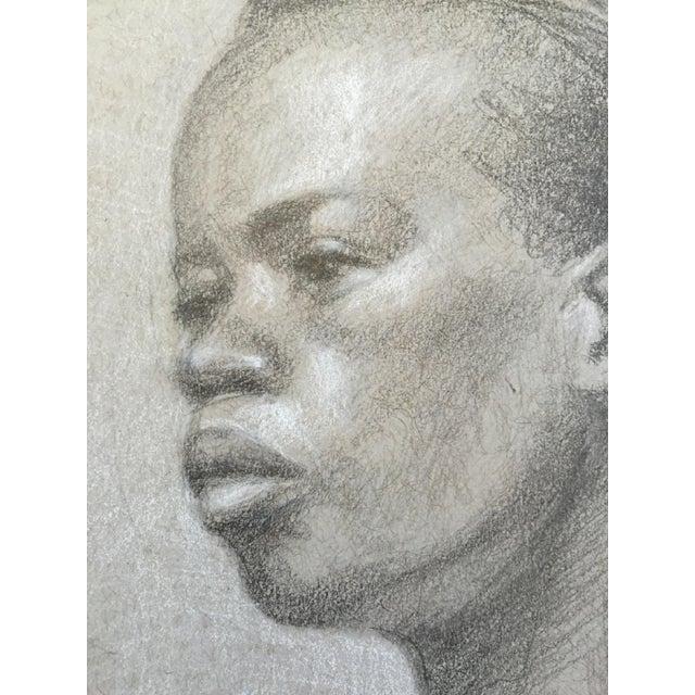 Original Graphite Life Sketch of Female Beauty - Image 4 of 4