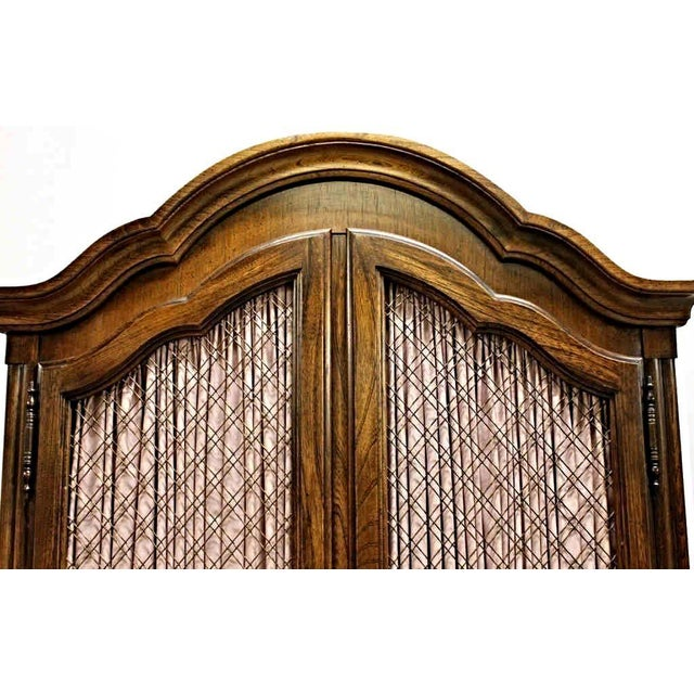 Carlton House French Louis XV Style Mahogany Armoire Cabinet - Image 11 of 11