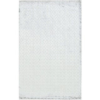 Contemporary Hand Woven Rug - 4' X 6'3 For Sale
