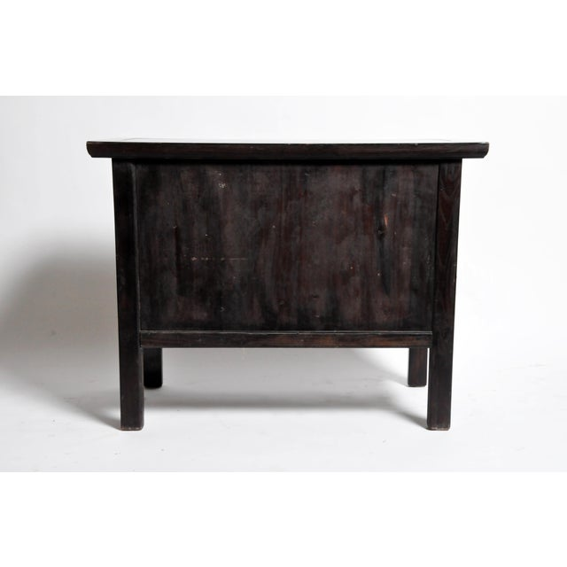 This handsome nine-drawer chest is from Shanxi, China made from reclaimed elm wood utilizing mortise and tenon joinery....