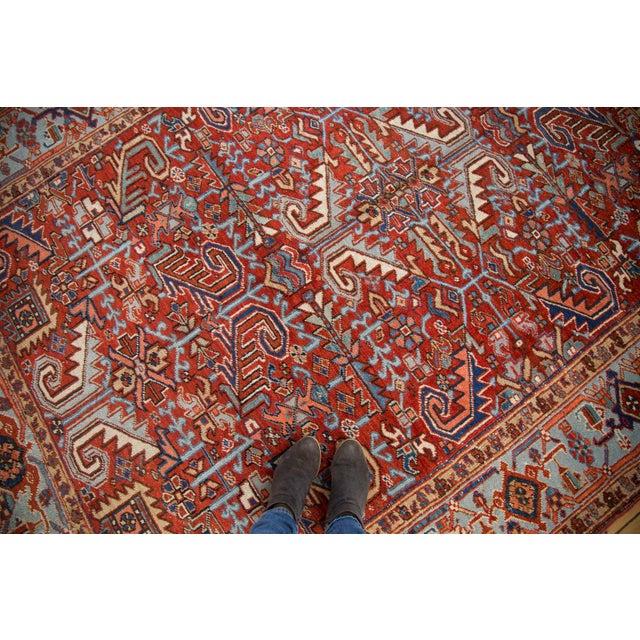 "Vintage Heriz Carpet - 6'11"" X 9'7"" - Image 5 of 8"