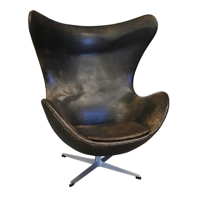 Early Arne Jacobsen for Fritz Hansen Egg Chair For Sale
