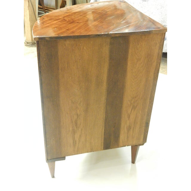 Early 19th Century Louis XVI Walnut Corner Cabinet For Sale - Image 5 of 7