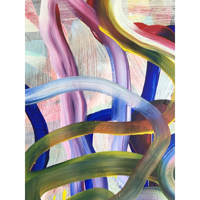 Large Original Abstract Painting by Jessalin Beutler For Sale - Image 4 of 7