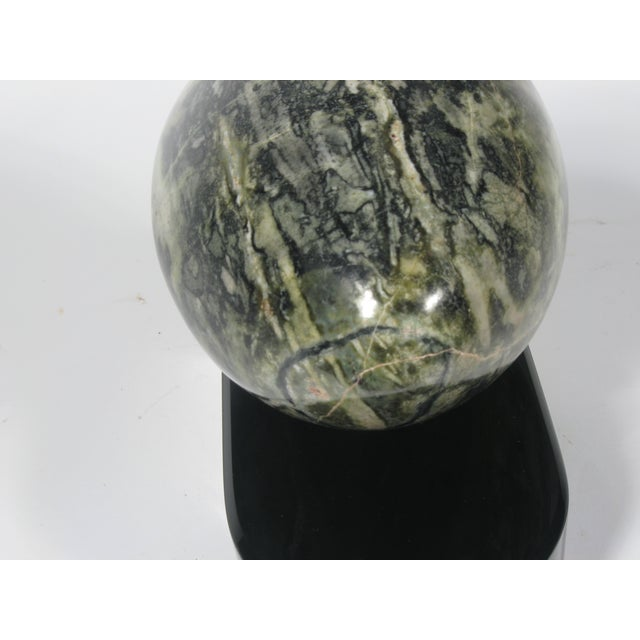 Mid-Century Connemara Marble Sculpture on Base - Image 6 of 6