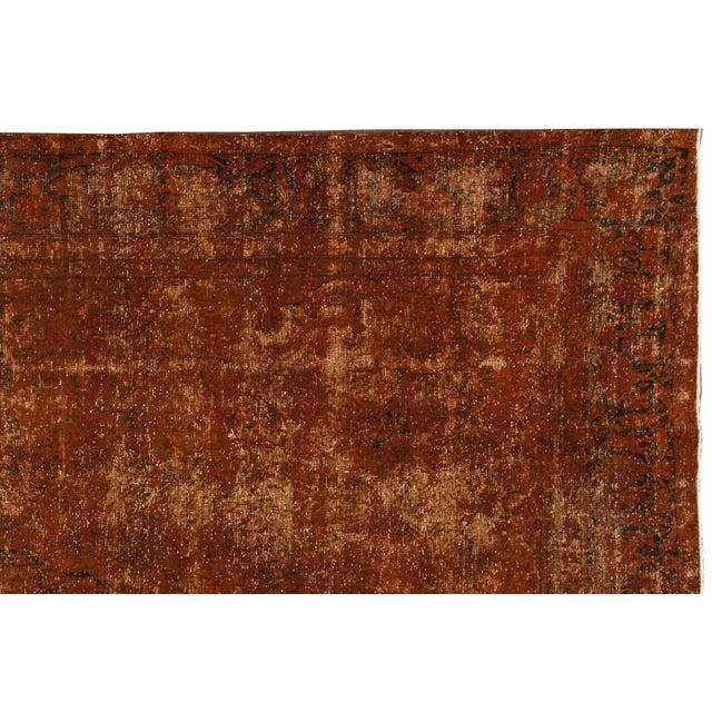 "Islamic Apadana - Vintage Overdyed Rug, 9'5"" X 13'9"" For Sale - Image 3 of 7"