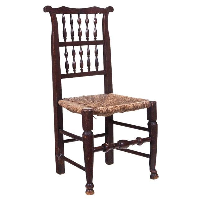 Mid 19th Century English Farmhouse Chair For Sale
