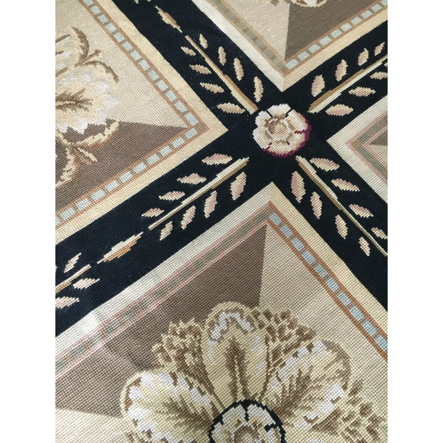 Textile Stark Aubusson Rug- 6′ × 9′3″ For Sale - Image 7 of 13