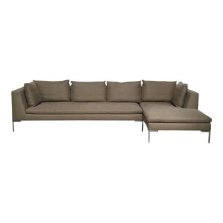 Modern B&b Italia 'Charles' Sectional by Anthony Citterio For Sale