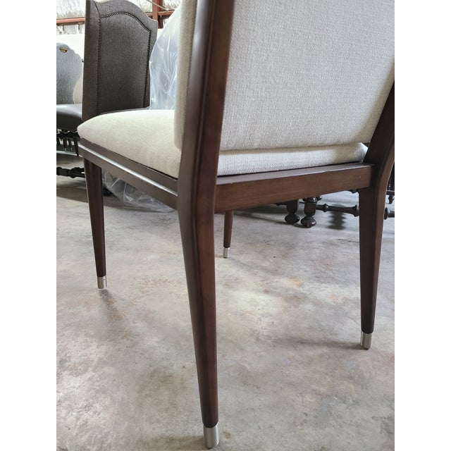 2020s Henredon Furniture David Kleinberg Talice Upholstered Dining Chair For Sale - Image 5 of 7