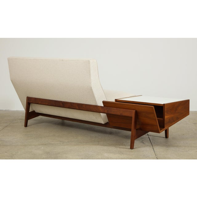 Jens Risom Design Jens Risom Sofa With Magazine Table For Sale - Image 4 of 13