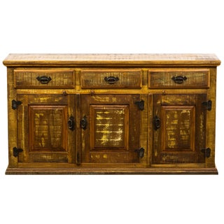 Rustic Buffet/Sideboard Reclaimed Peroba Rosa Wood
