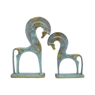 Mid Mod Etruscan Horses, Pr