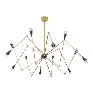 Blueprint Lighting Sculptural Model 720 Chandelier *Custom Colors*