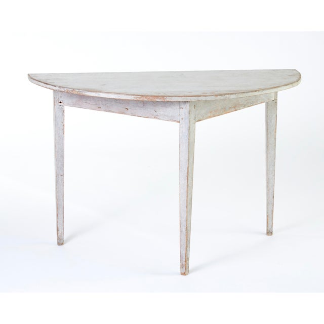 Country Early 19th Century Antique Swedish Dining Table For Sale - Image 3 of 8