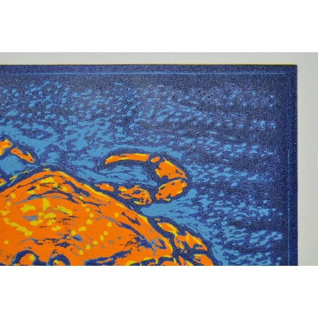 """Circa 2003 Arnold Grossman """"Dungeness"""" Silkscreen - Image 6 of 7"""