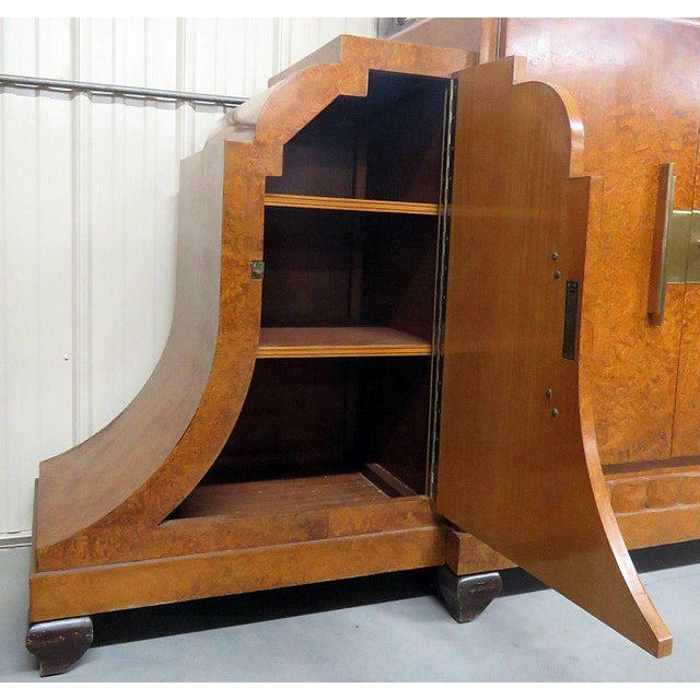 Camard Art Deco Marble-Top Sideboard For Sale - Image 4 of 11