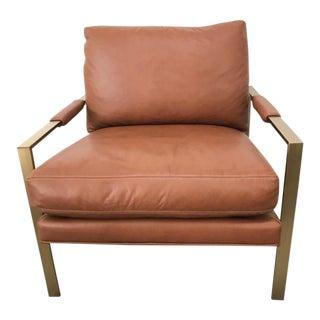 Milo Baughman #951 Design Leather Chair