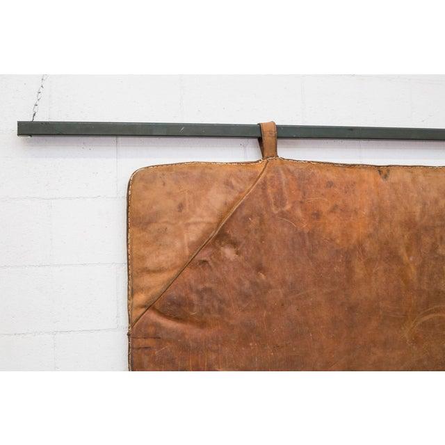 Vintage Leather Gymnastics Mat - Image 3 of 8