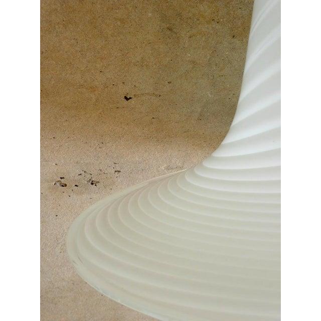 1960s Murano Art Glass Pendant Light Fixture For Sale - Image 9 of 10