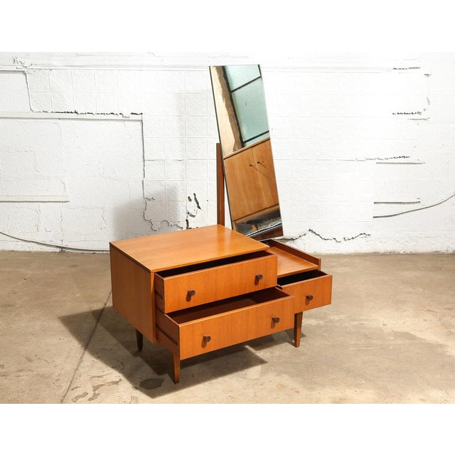 Small Mid Century Mirrored Dresser For Sale - Image 4 of 10