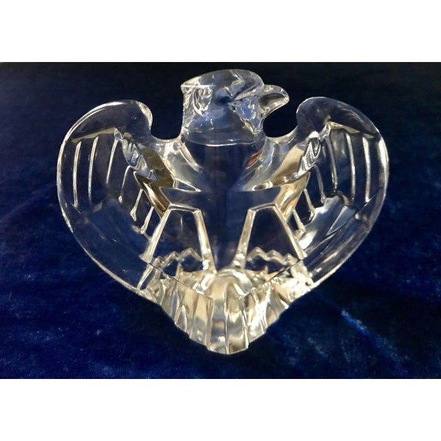 Lloyd Atkins Vintage Lloyd Atkins for Steuben Crystal Eagle Figurine For Sale - Image 4 of 9