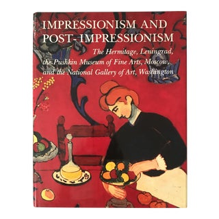"1989 ""Impressionism and Post-Impressionism"" First Edition Art Book For Sale"