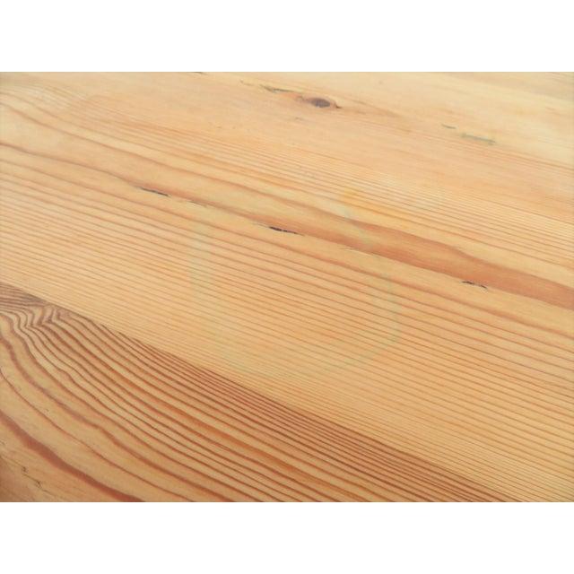 English Scrub Pine Farm Table - Image 5 of 7